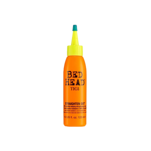 Tigi Bed Head Straight Out 98% Humidity Defying Straightening Cream 120ml - TheBeautyQueen