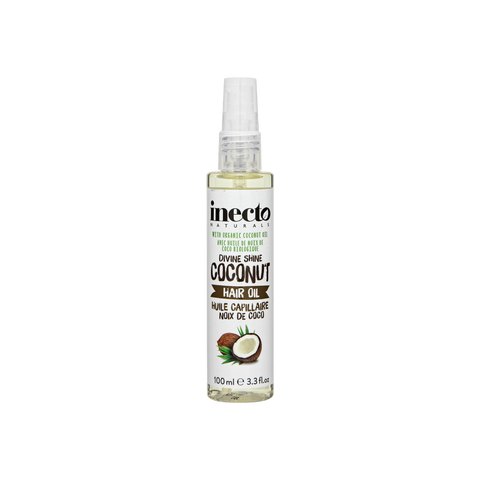 Inecto Coconut Hair Oil 100ml - TheBeautyQueen