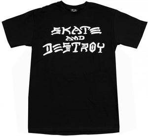 Thrasher - Skate & Destroy Tee | Black
