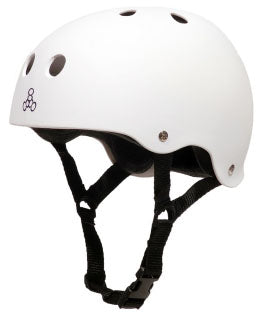 Triple Eight - Sweatsaver Helmet | White