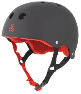 Triple Eight - Sweatsaver Helmet | Black Red