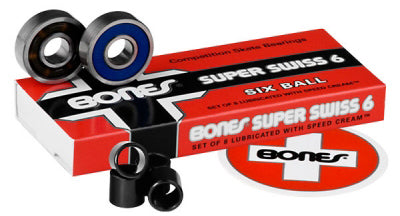 Bones - Super Swiss 6-Ball Bearings
