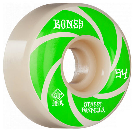 Bones - STF Bats Easy Streets V5 54mm 99a Wheels (Sidecuts)