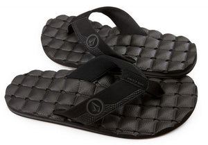 Volcom - Recliner Sandals | Black Destructo