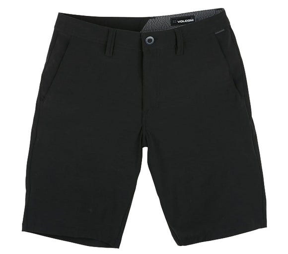 Volcom - Frickin SNT Static Hybrid Shorts | Black Out