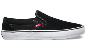 Vans - Slip-On Pro Shoes | Black White