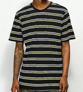 Nike SB - Striped Skate Tee | Black Green