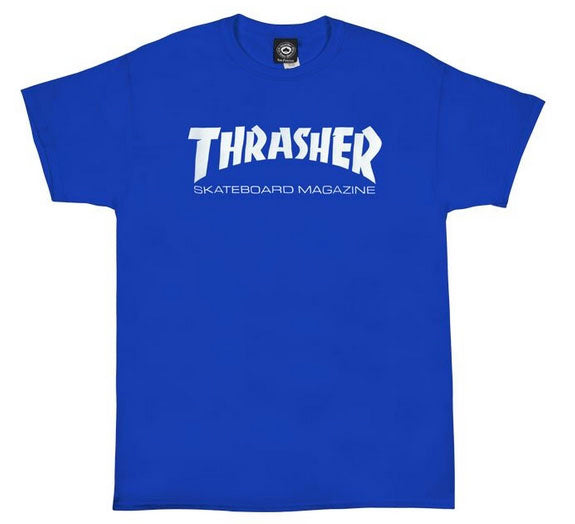 Thrasher - Skate Mag Tee | Royal