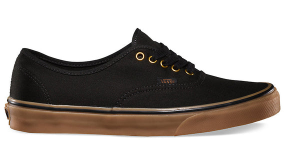 Vans - Authentic Shoes | Black Rubber