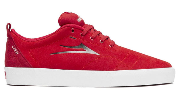 Lakai x Indy - Bristol Shoes | Red