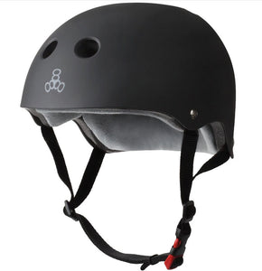 Triple Eight - The Certified Sweatsaver Helmet | Black