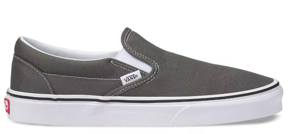 Vans - Classic Slip-On Shoes | Charcoal
