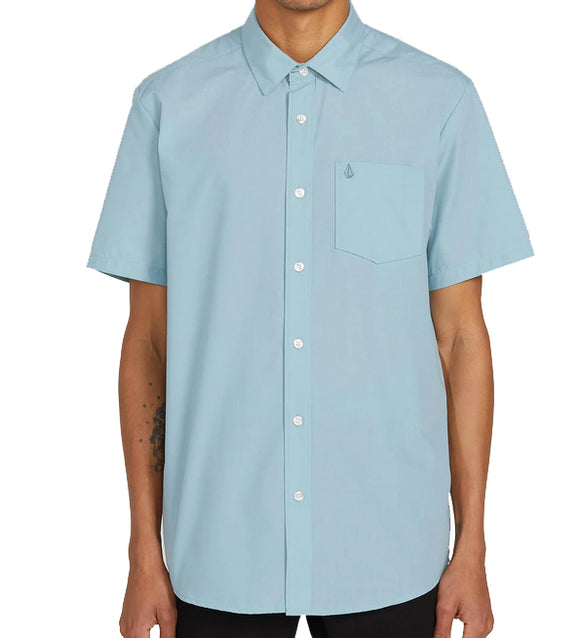 Volcom - CJ Collins S/S Shirt | Cool Blue