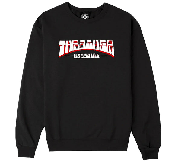Thrasher - Outline Crew Sweatshirt | Navy