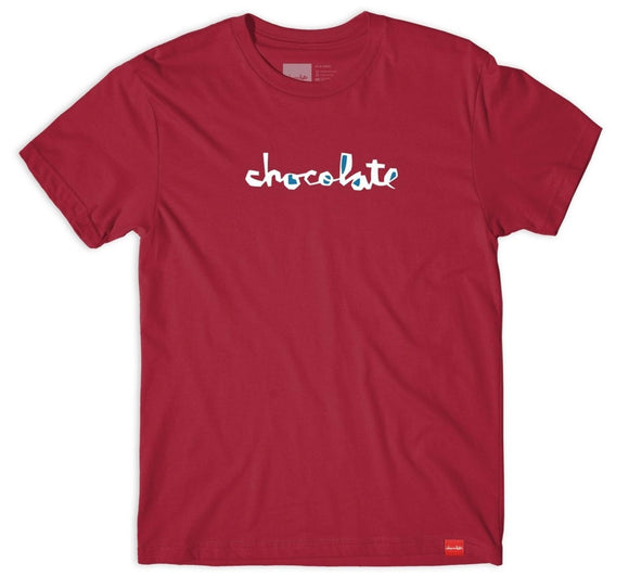 Chocolate - Filler Chunk Tee | Cardinal