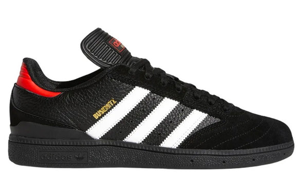Adidas - Busenitz Pro Shoes | Black Black Red