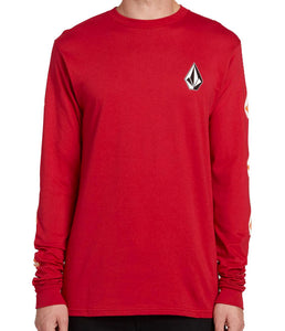 Volcom - Deadly Stones L/S Tee | Engine Red
