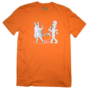 Plus - Donkey Tee | Orange