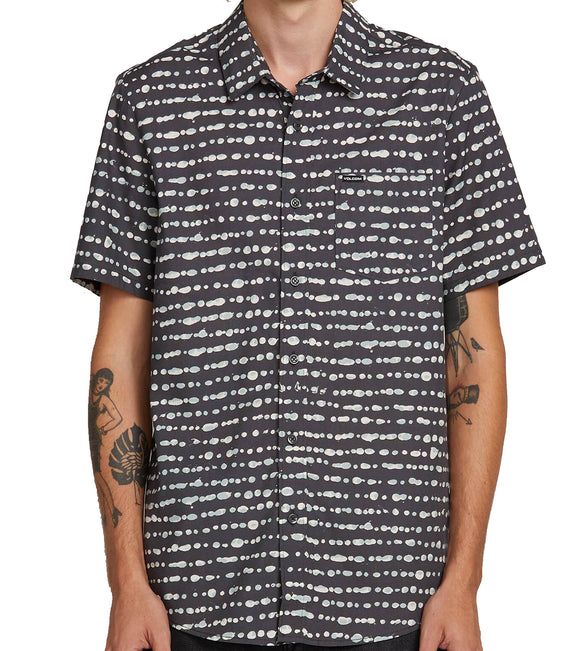 Volcom - Dot Stone S/S Shirt | Sea Navy