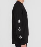 Volcom - Deadly Stones L/S Tee | Black