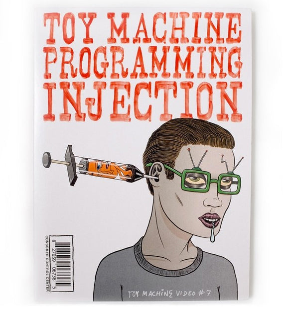 Toy Machine - Progamming Injection DVD