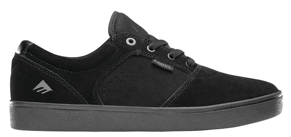 Emerica - Figgy Dose Shoes | Black Black