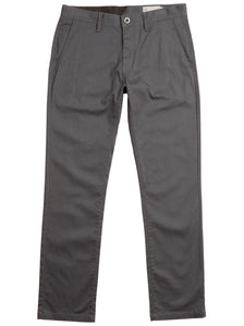 Volcom - Frickin Modern Stretch Chino Pants | Charcoal