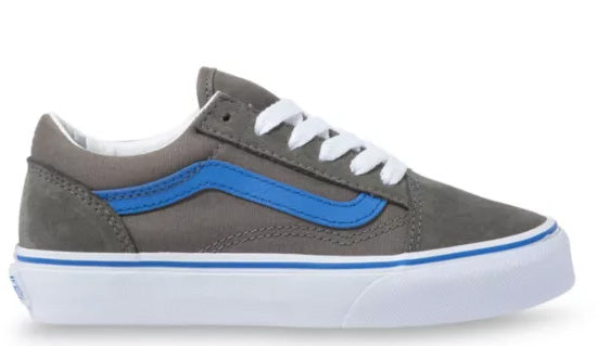 Vans - Kids Old Skool Shoes | Gargoyle Blue (Pop)