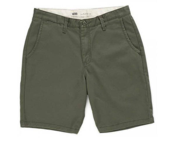 Vans - Authentic Chino Stretch Shorts | Grape Leaf