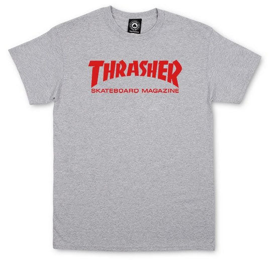 Thrasher - Skate Mag Tee | Heather Grey
