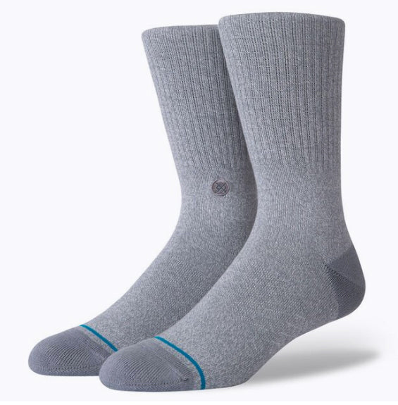 Stance - Icon Socks | Heather Grey