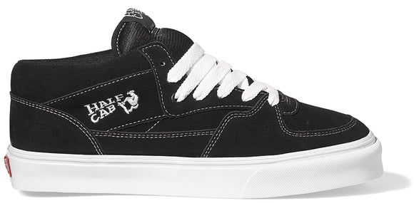 Vans - Half Cab Shoes | Black White
