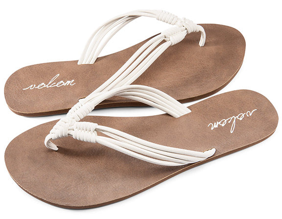 Volcom - Have Fun Sandals | White