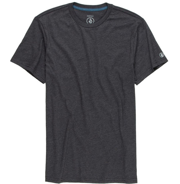 Volcom - Heather Solid Tee | Black