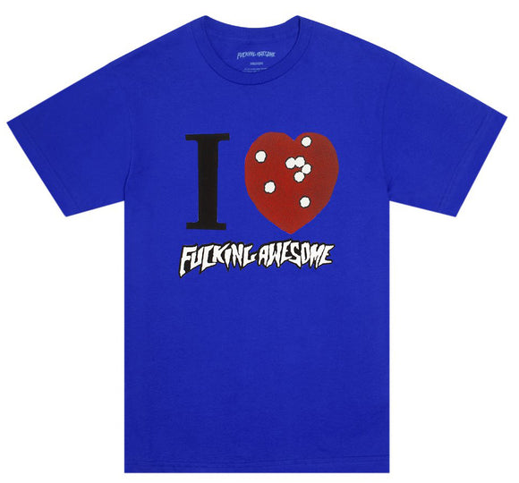 FA - I Heart FA Tee | Royal