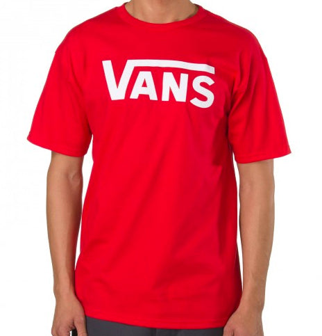 Vans - Classic Tee | High Risk Red