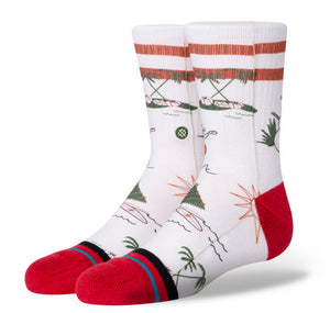 Stance - Kids Santa in Hawaii Socks | Canvas