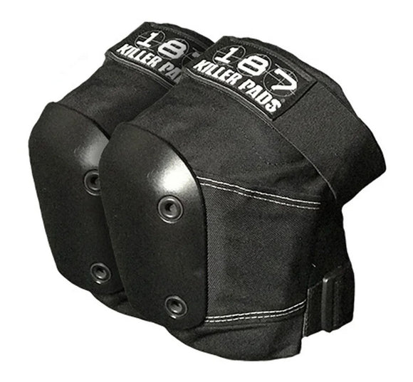 187 Killer Pads - Slim Knee Pads | Black
