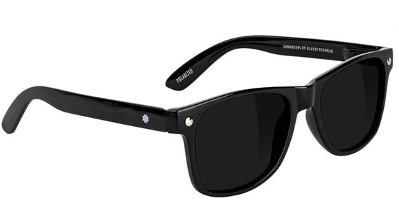 Glassy - Leonard Sunglasses | Black