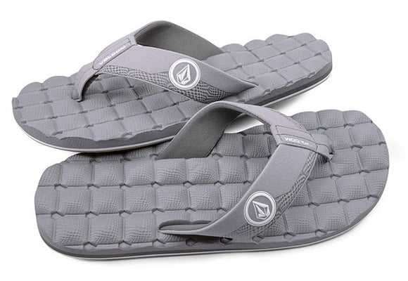 Volcom - Recliner Sandals | Light Grey