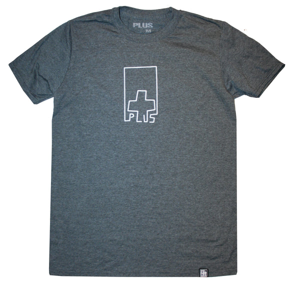 Plus - Liner Tee | Heather Charcoal