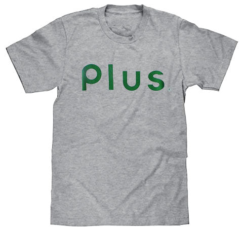 Plus - P'Lix Tee | Heather Grey