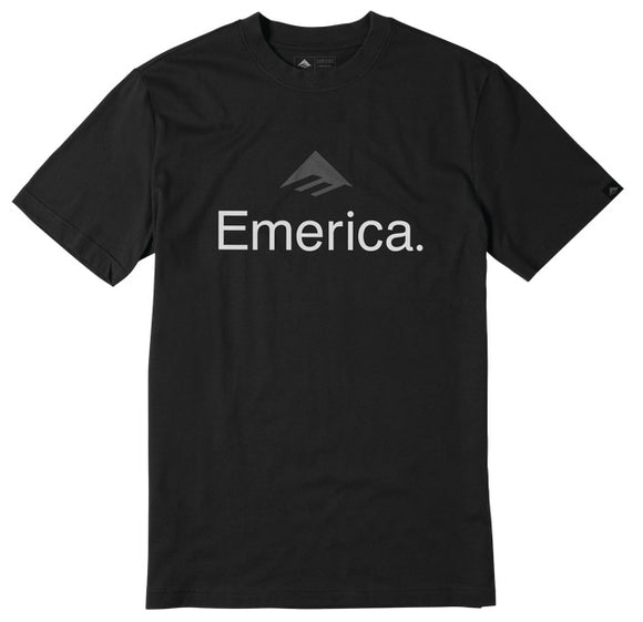 Emerica - Skateboard Logo Tee | Black