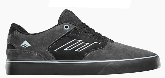Emerica - The Low Vulc Shoes | Grey Black Blue