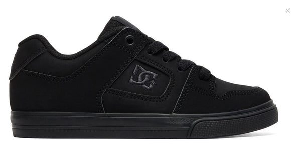DC - Kid's Pure Shoes | Black Black