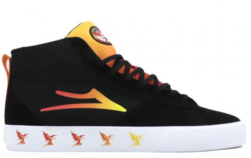 Lakai x Black Sabbath - Newport Hi Shoes | Black Gradient