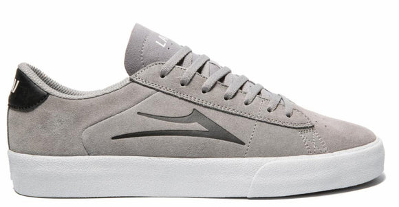 Lakai - Newport Shoes | Light Grey Black