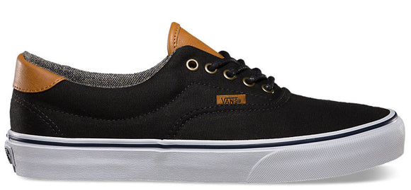 Vans - Era 59 Shoes | Black Washed (C&L)