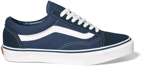 Vans - Old Skool Shoes | Navy White