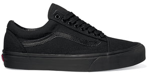 Vans - Old Skool Shoes | Black Black (Canvas)